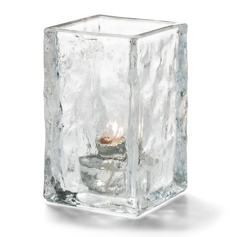 Hollowick 5188C Glacier Votive Lamp for HD10, HD12 & HD15 Fuel Cells, Clear