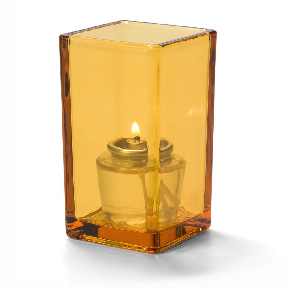"Hollowick 6109A Quad Votive Lamp for HD8 & HD15, 4.38x2.5"", Amber"