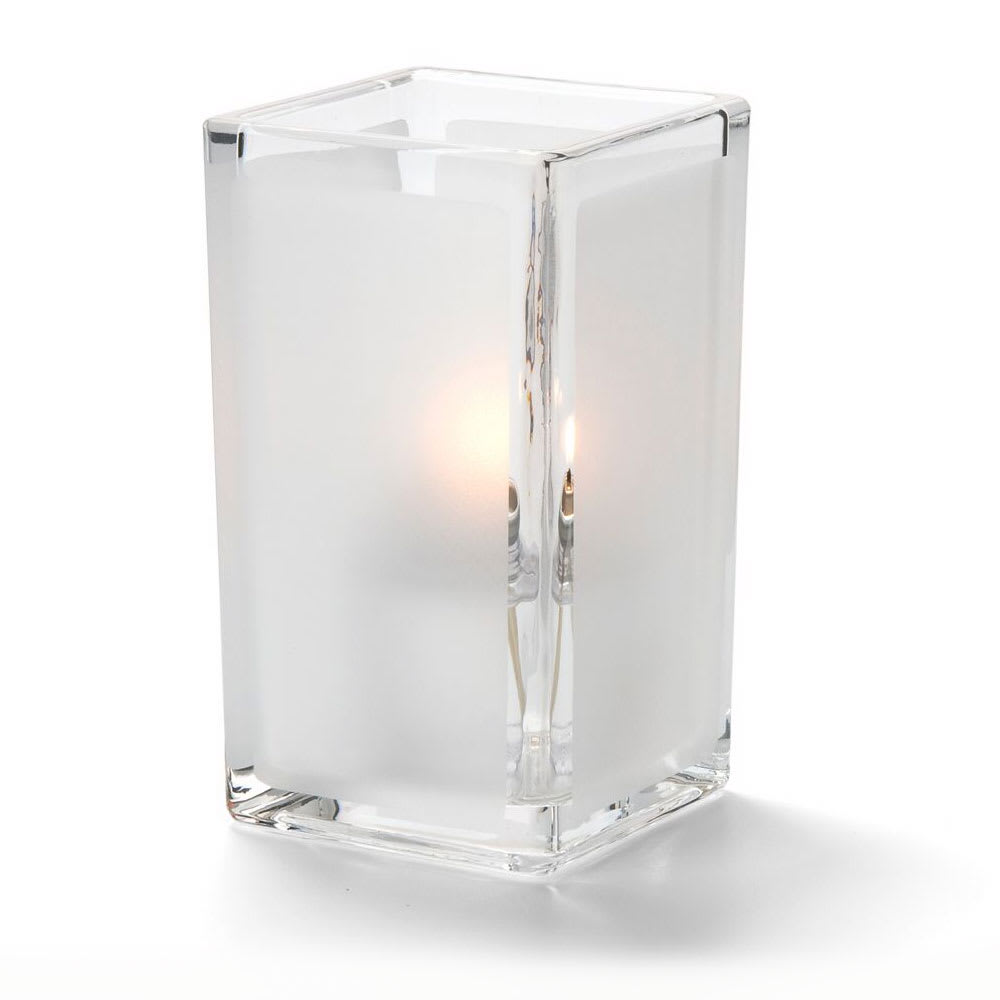 Hollowick 6109F Quad Votive Lamp For HD8 Or HD15, Clear Satin Panel