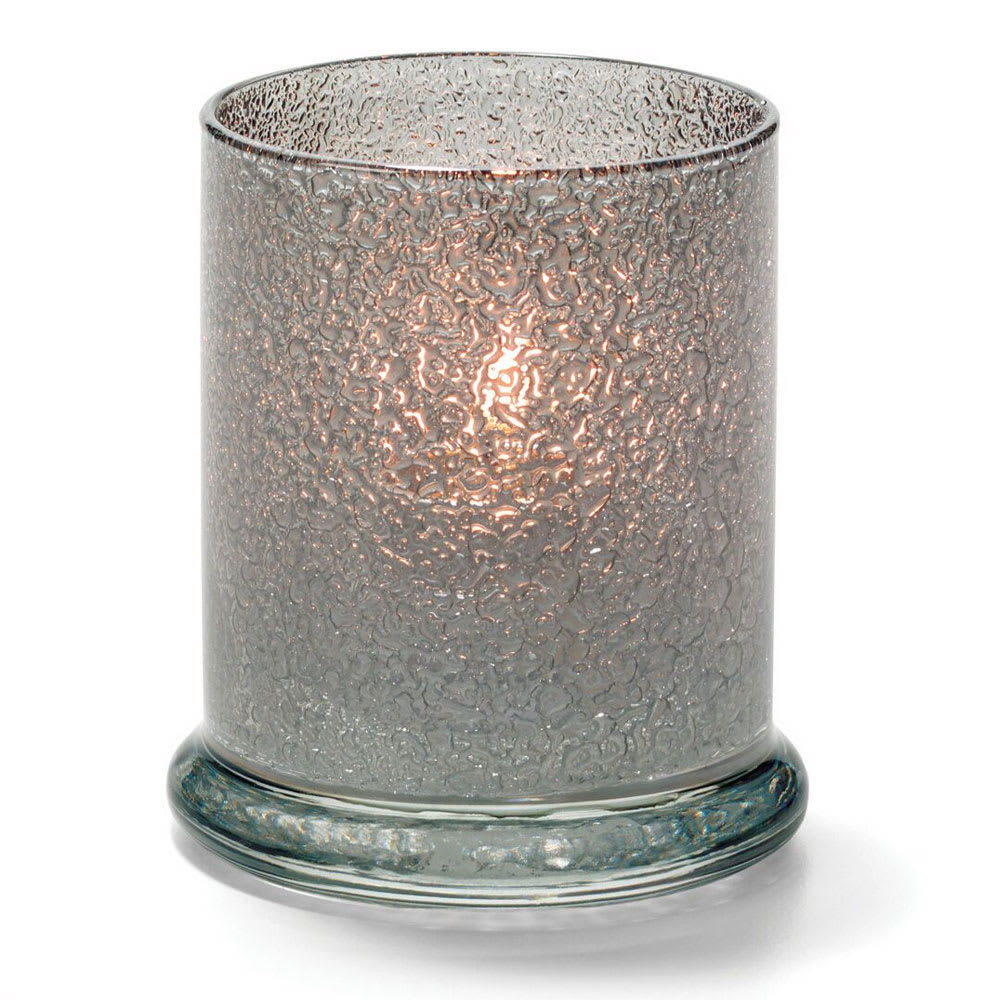"Hollowick 6147SJ Votive Lamp w/ Cylinder Style for HD15, HD12 & HD8, 3.63x3"", Smoke Jewel"