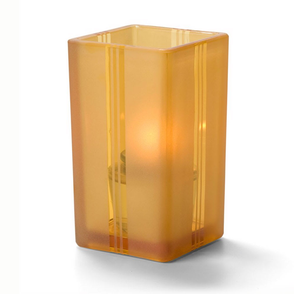 Hollowick 6179FA Quad Votive Lamp For HD8 Or HD15, Amber Art Deco