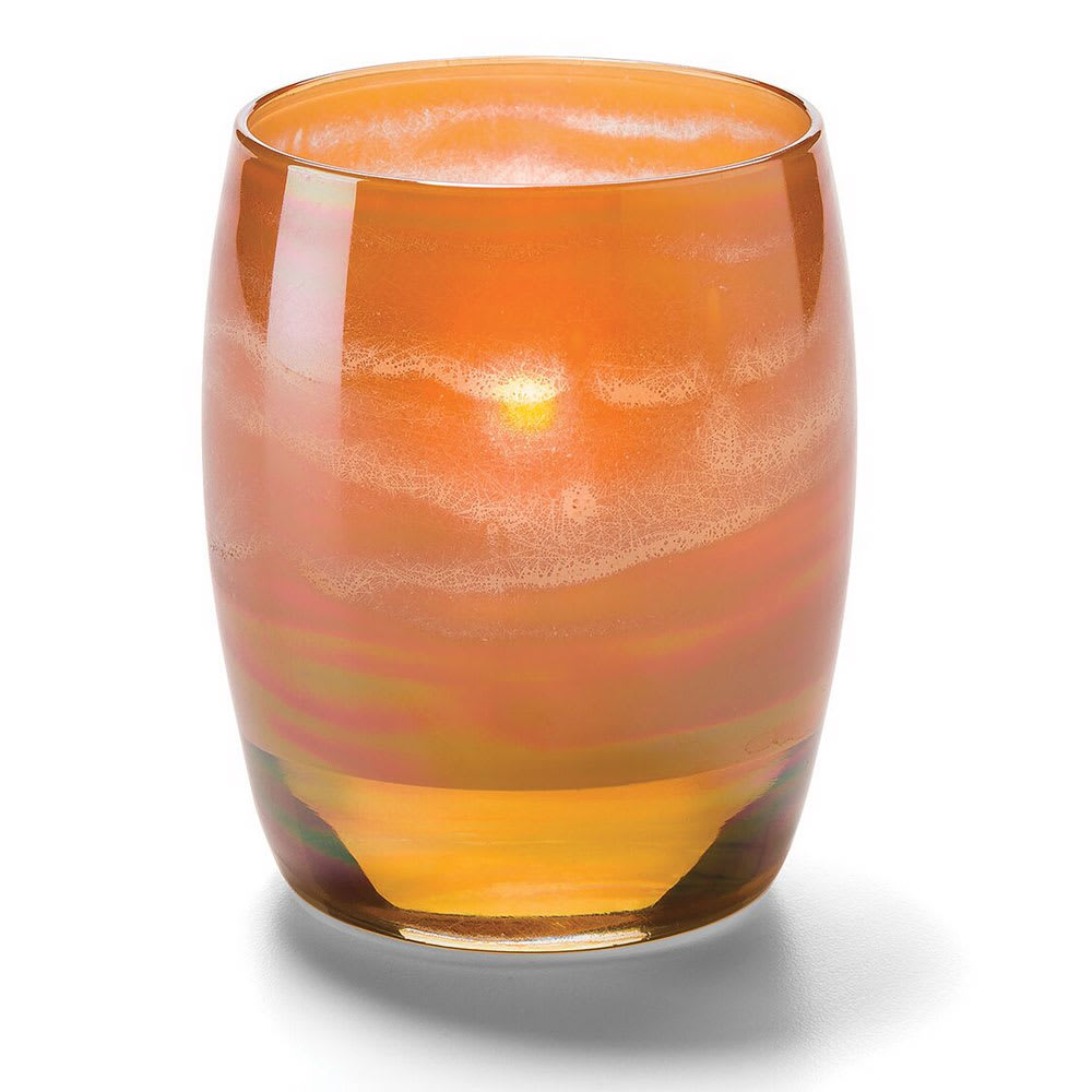Hollowick 6422G Contour Votive for HD8, HD12, or HD15, Amber Art