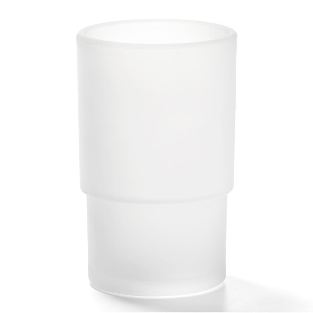 "Hollowick 64SC Horizon Globe, 4.5x2.88"", Glass, Satin Crystal"