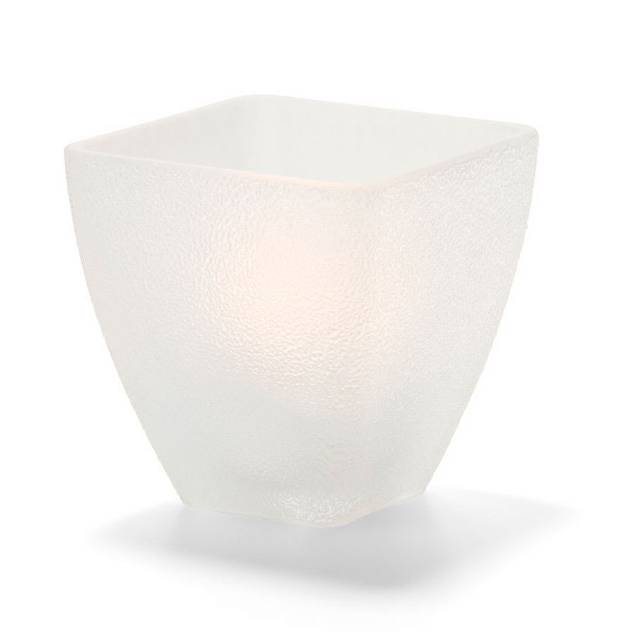 Hollowick 67SCI Votive Globe, Satin Crystal, ice