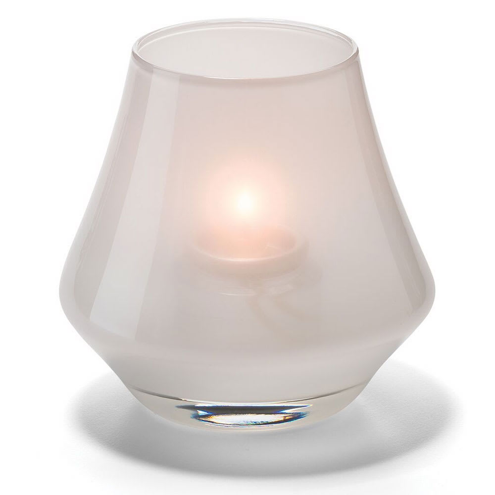 Hollowick 6955SL Chime Votive Lamp for HD8 or HD15, Satin Linen