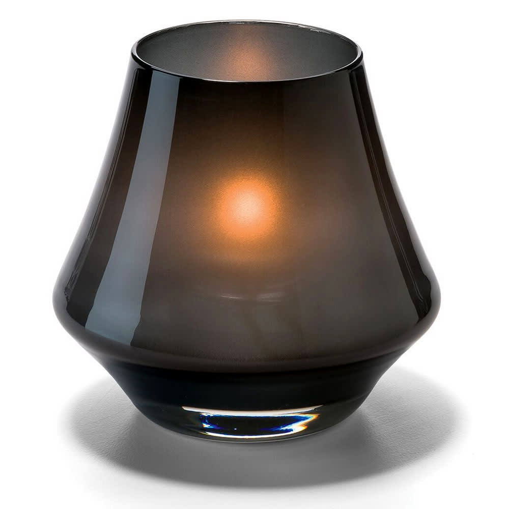 Hollowick 6955SM Chime Votive Lamp for HD8 or HD15, Satin Midnight