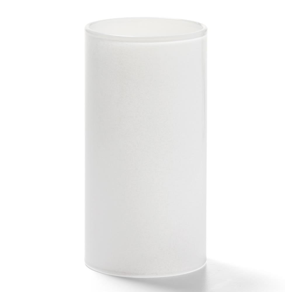 "Hollowick 73SC Tall Cylinder Globe, 4.63x2.44"", Glass, Satin"