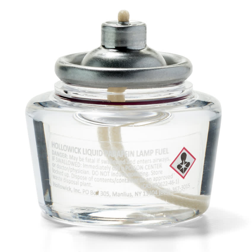 """Hollowick HD10 Disposable Fuel Cell w/ 10 hr Capacity - 1.7"""" x 1.6"""", Plastic, Clear"""