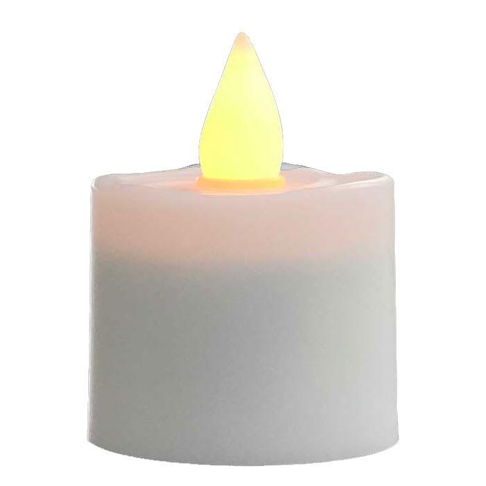 Flameless Votive Candles Beauteous Hollowick HFRPA 6060 Round LED Flameless Votive Candle 6060H