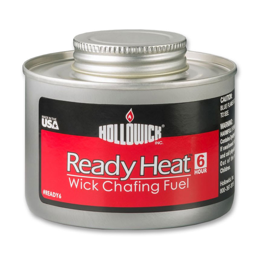 Hollowick READY6 Ready Heat Wick Chafing Fuel w/ 6-hr Capacity