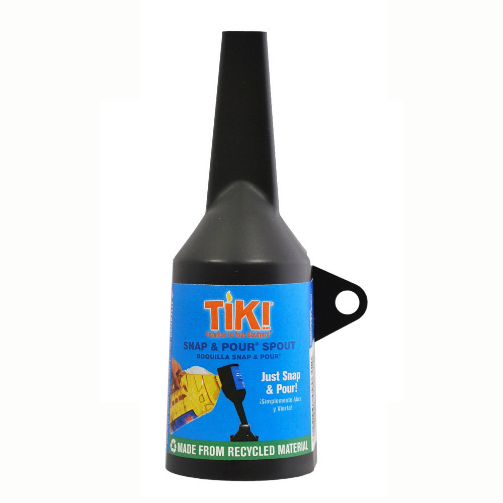 Hollowick TK09031 Snap & Pour Spout for Tiki Brand Refillable Fuel Cell, 2x5.75""