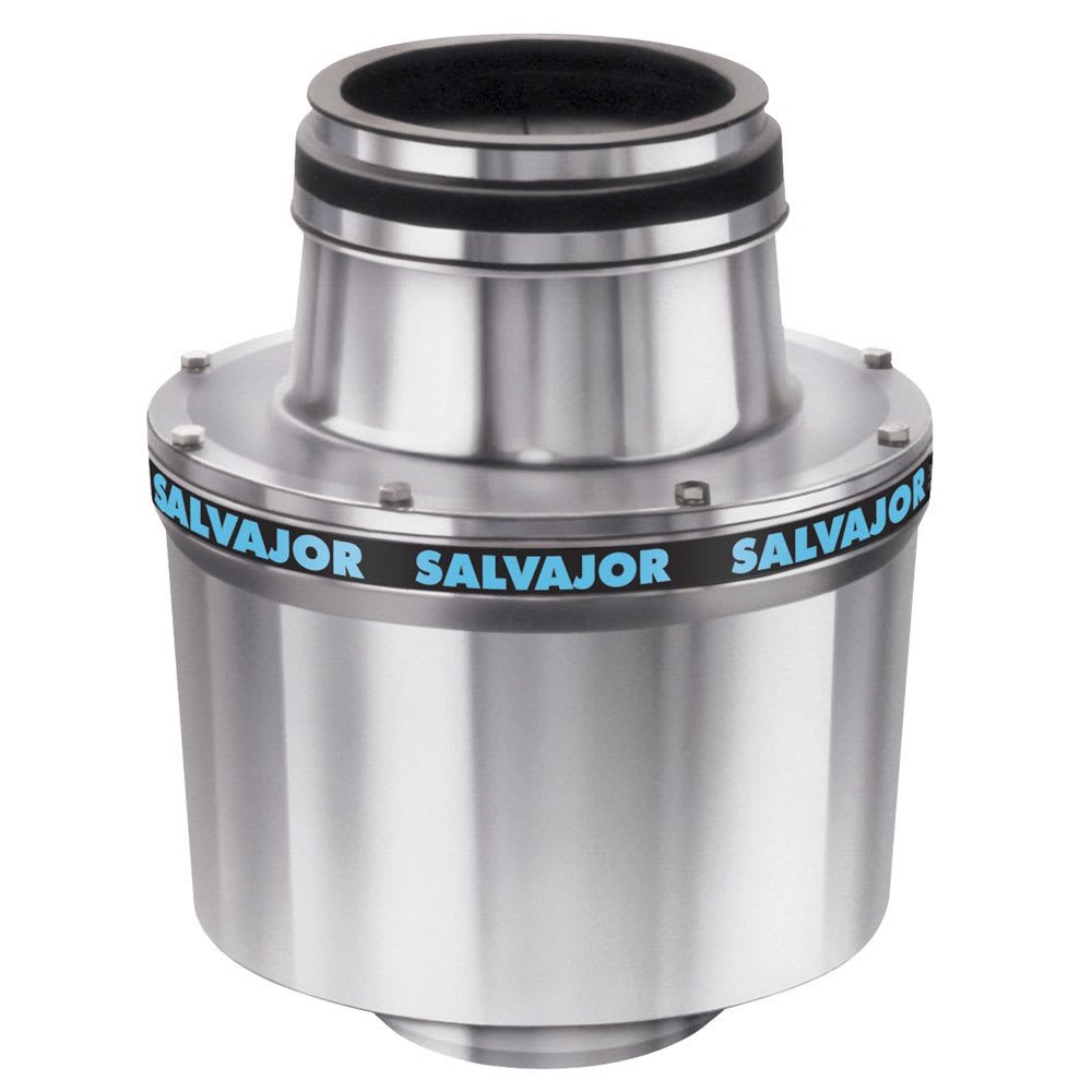 Salvajor 100 Disposer, Basic Unit Only, 1 HP Motor, 230/3 V