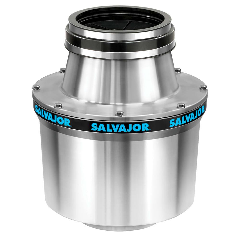 "Salvajor 100-CA-12-WSP Water-Saving Disposer Package w/ 12"" Cone - 1 HP Motor, 115v"