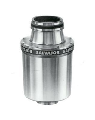 Salvajor 100-SA-MSS 2301 Disposer Package, Sink/Trough Mount, 1 HP, 230/1 V