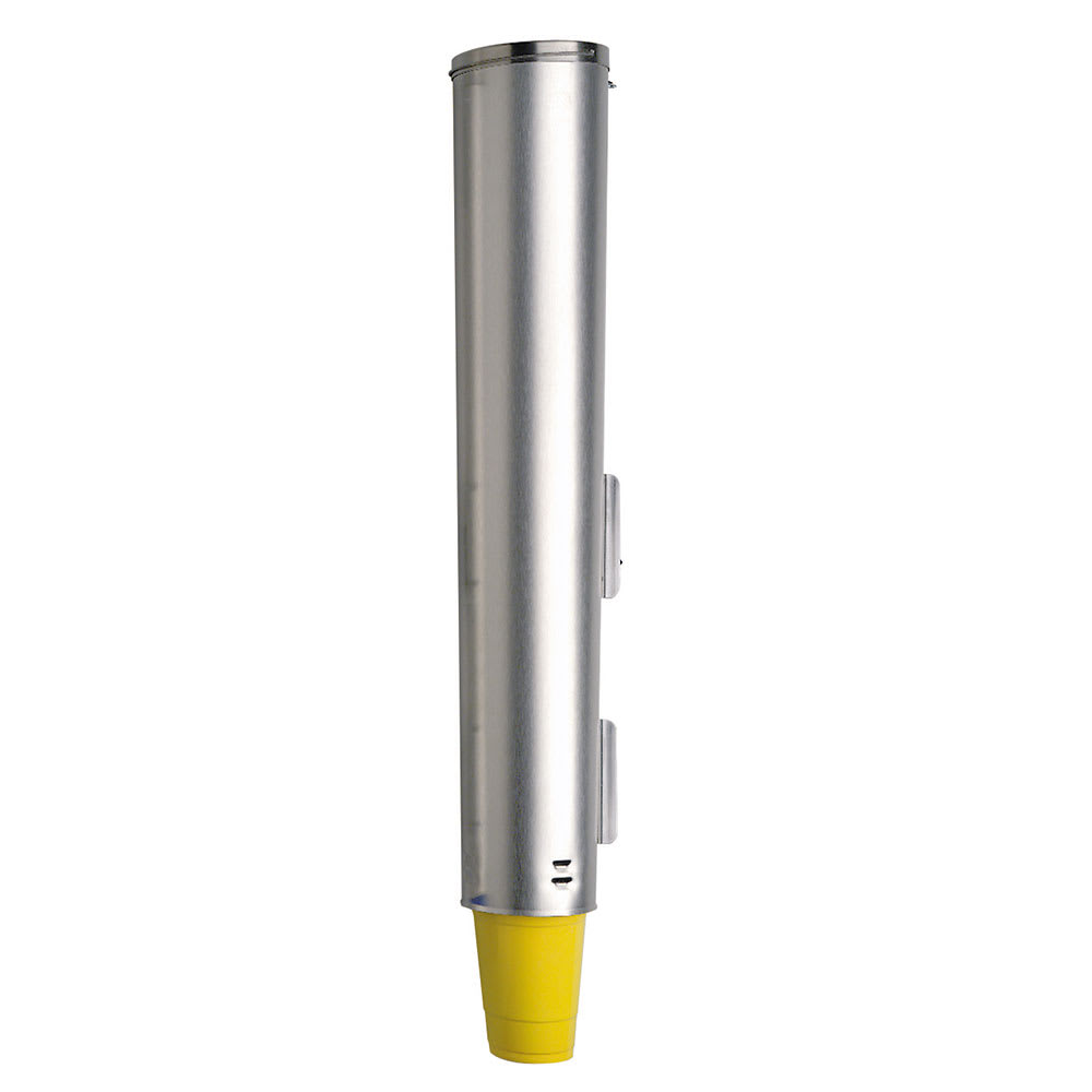 """Dispense-rite ADJNW151 Cup Dispenser, Pull, Surface Mnt for 4-1/8 to 4-3/4 Rim Dia Cup, 25-1/2""""L"""