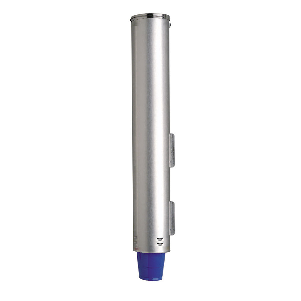 """Dispense-rite ADJNW81 Cup Dispenser, Pull, Surface Mnt for 3-1/4 to 3-7/8 Rim Dia Cup, 25-1/2""""L"""