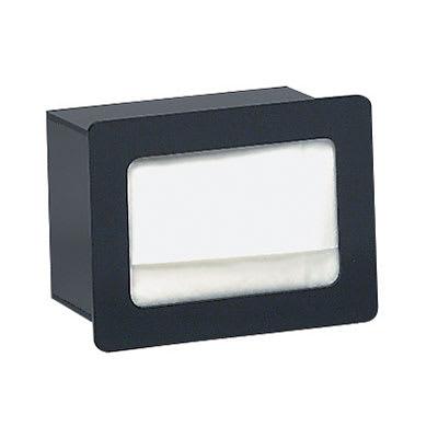 """Dispense-rite FMN1 Napkin Dispenser, Built-In, Holds 4 1/2 to 5"""" X 6 1/2"""" Napkins, Acrylic"""