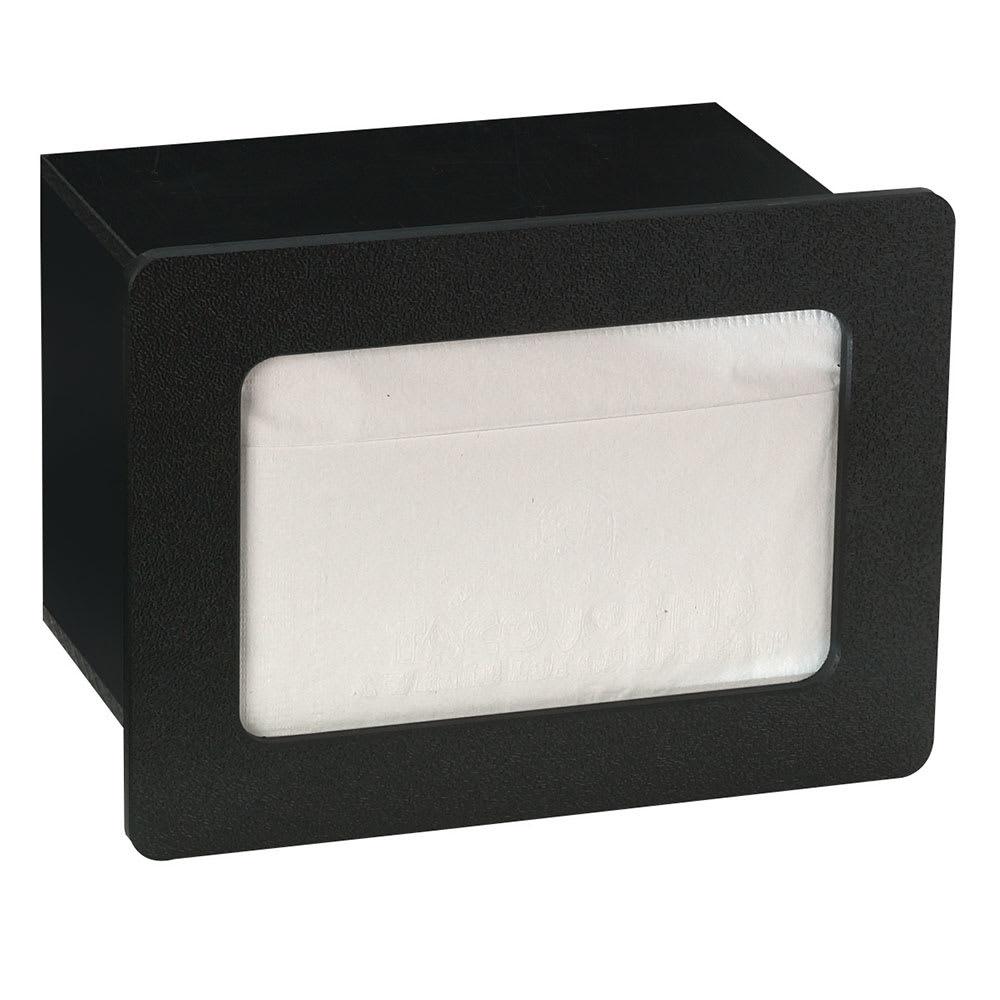 """Dispense-rite FMN1BT Napkin Dispenser, Built-In, Holds 4-1/2 to 5"""" X 6-1/2"""" Napkins, Polystyrene"""