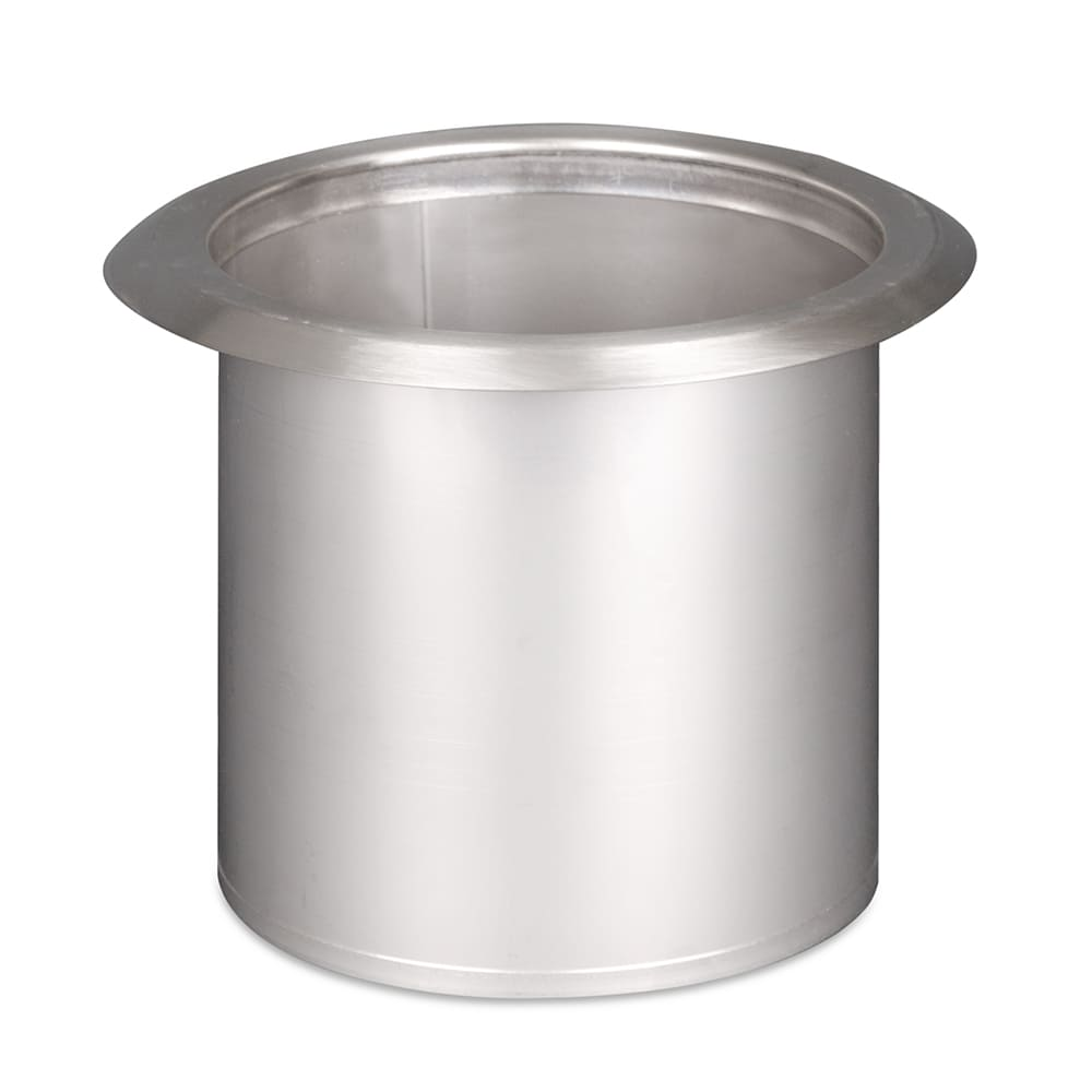 "Dispense-rite TCD2NB Trash Chute, Built-In, 6"" Dia x 7-5/8""L, Stainless Steel"