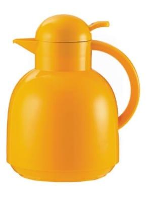Service Ideas 0925096100 1-liter Coffee Server w/ Vacuum Insulation, Yellow, Plastic