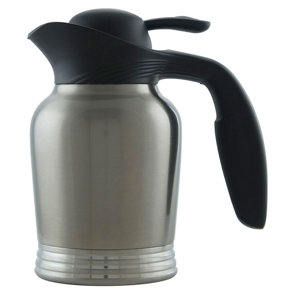 Service Ideas 10 00006 000 6 Liter Vacuum Carafe W No Drip Lip Stainless Insulation
