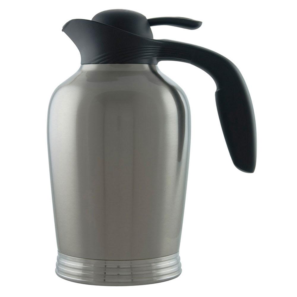 Service Ideas 10-00008-000 50-oz Vacuum Pitcher w/ No Drip Lip, Stainless Insulation