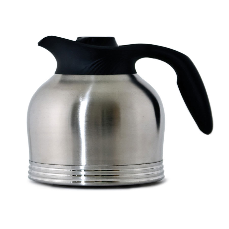 Service Ideas 10-00183-000 64-oz Brew-In Carafe w/ Vacuum Insulation, No Drip Lip, 7.5""