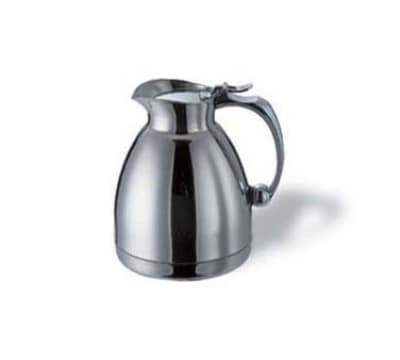 Service Ideas 55730 10-oz Pitcher w/ Unbreakable Liner, Stainless