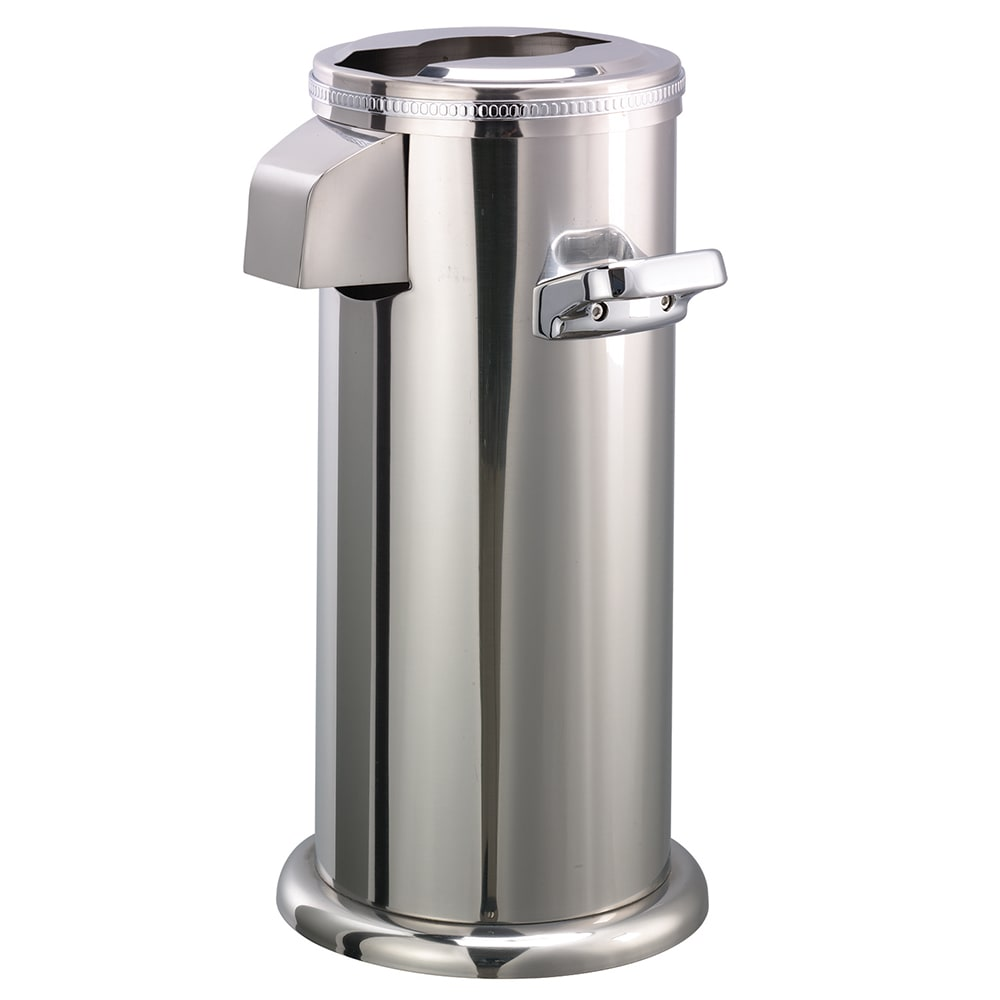 "Service Ideas APC716PS Airpot Cover-Up - 11¼ x 9½ x 17¾"", Stainless"