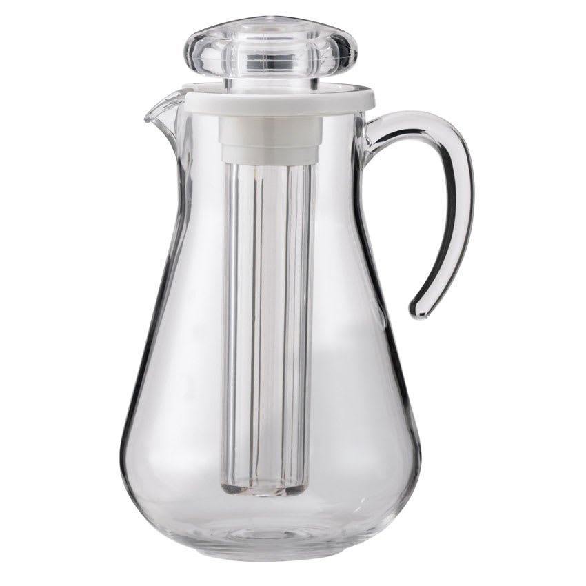 Service Ideas AWP19SB 1.9-liter Water Pitcher w/ Smooth Surface, Clear Acrylic