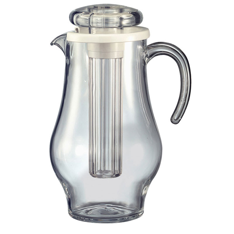 Service Ideas AWP24BS 2.8-liter Water Pitcher w/ Smooth Surface, Clear Acrylic