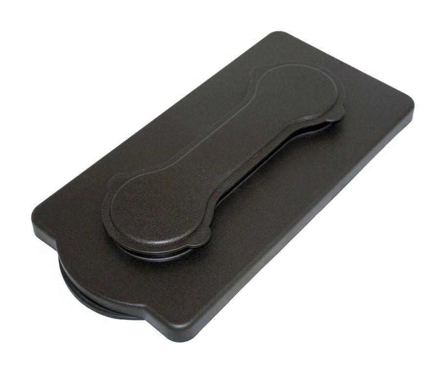 Service Ideas CBDLIDC Plastic Lid Complete For CBDP3BL, Black