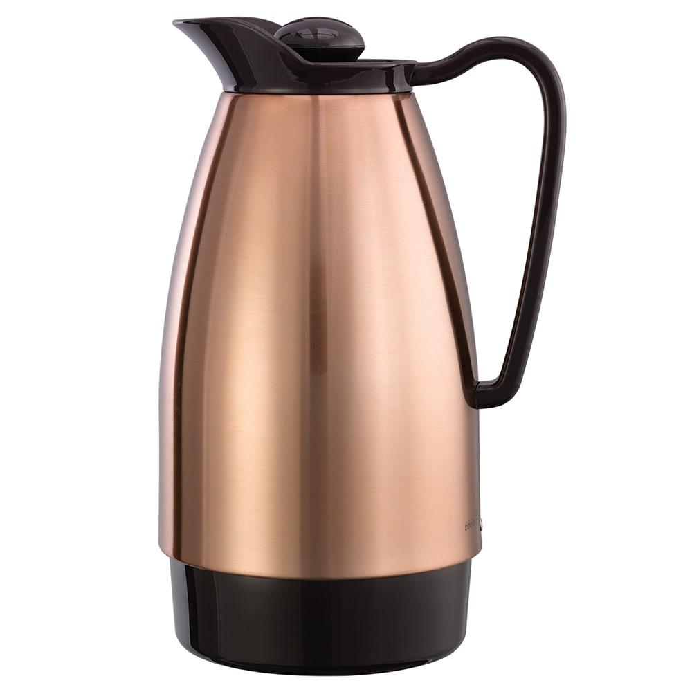 Service Ideas Cgc101cp 1 Liter Carafe W Dripless Spout Gl Interior Copper Brown