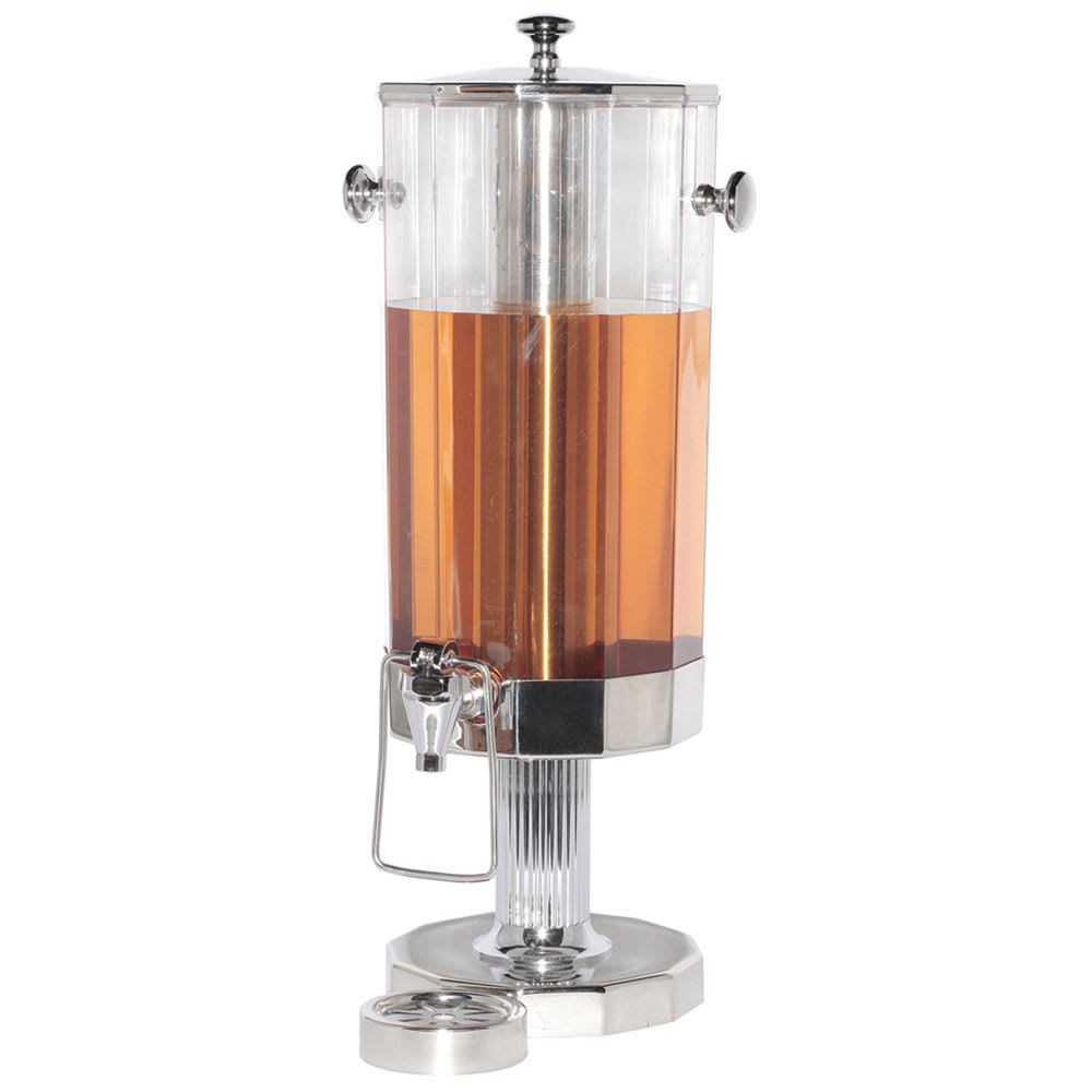 Service Ideas DDC11SSPS Beverage Dispenser w/ 11-Liter Capacity & Polished Stainless Base