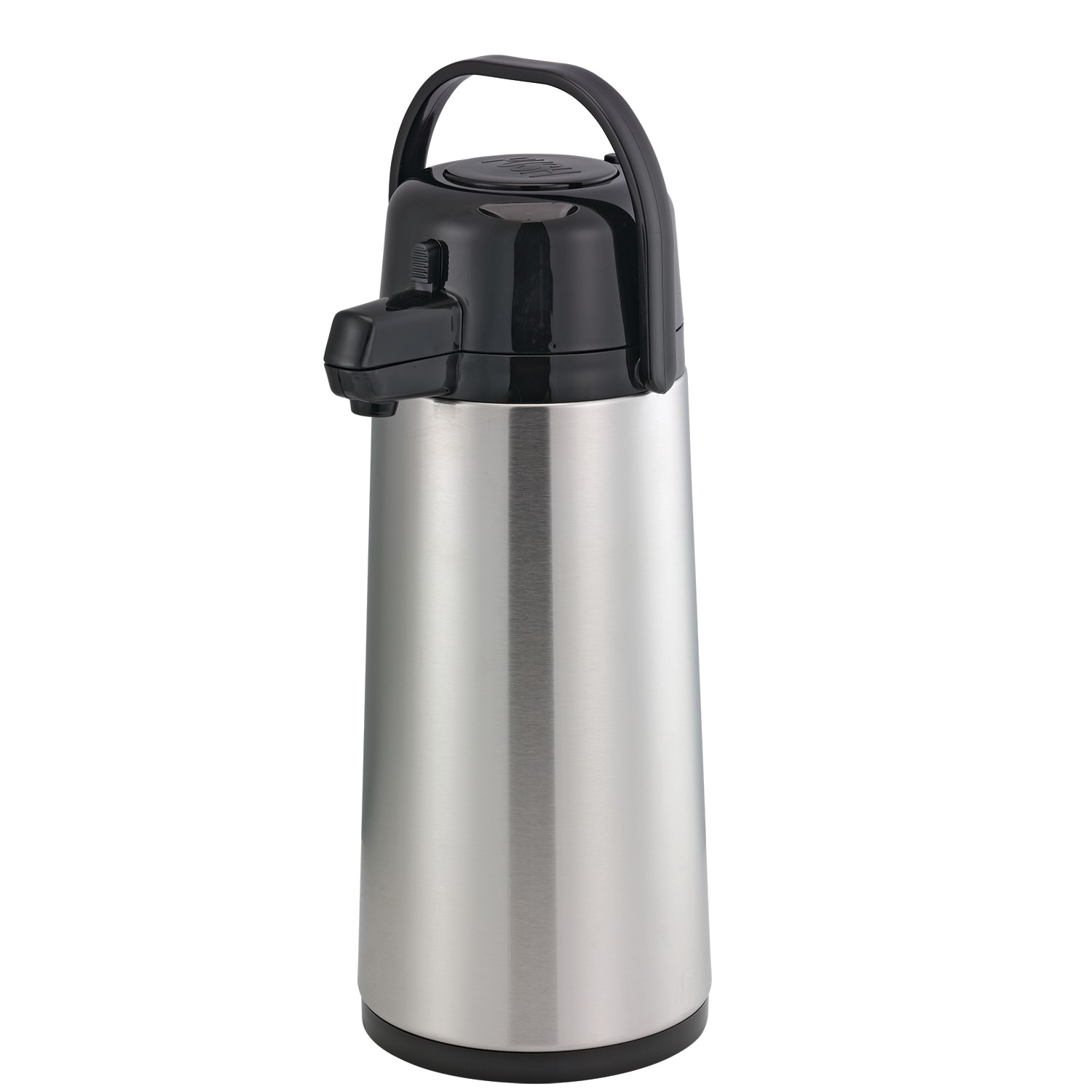 Service Ideas ECA19S 1.9-liter Insulated Glass-Lined Airpot w/ Smooth Body, Pump Style