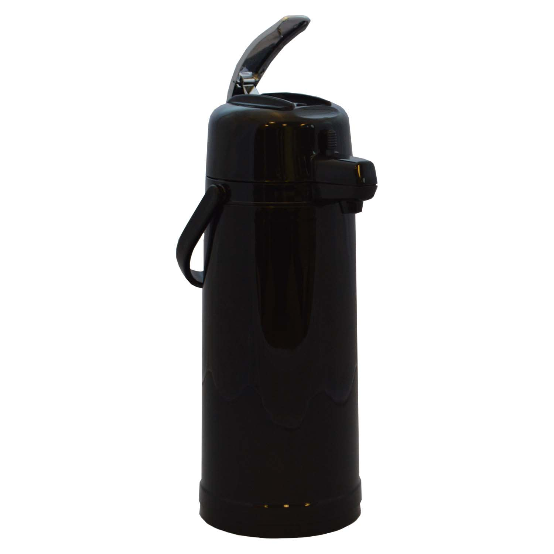 Service Ideas ECALS22PBLK 2.4-liter Airpot w/ Interchangeable Lever Lid, Black