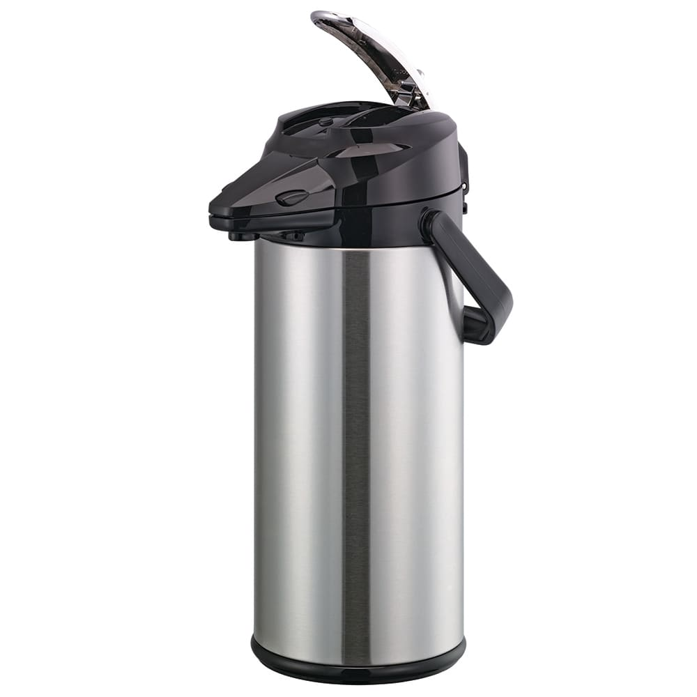 Service Ideas ENALG22S 2.2 liter Airpot - 8 hr Hold Time, 18/8 Stainless