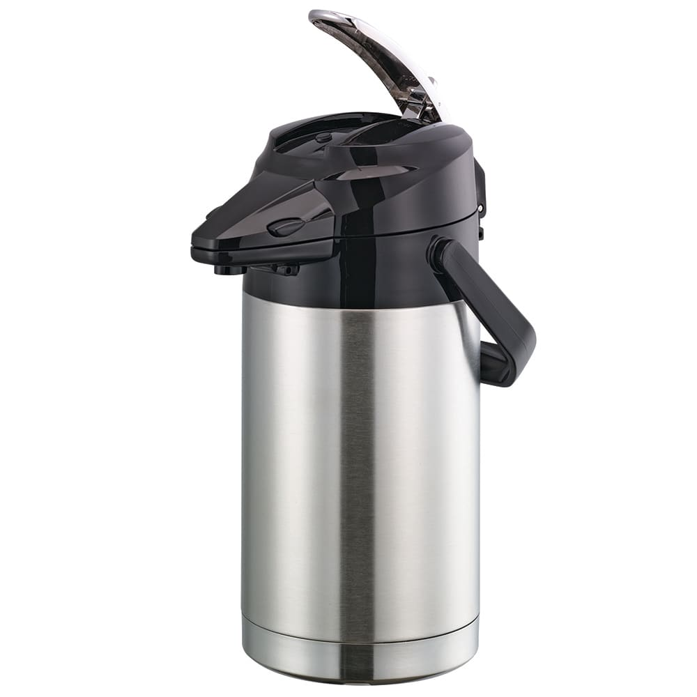 Service Ideas ENALS22S 2.2-liter Lever-Action Airpot - Stainless Liner, Stainless