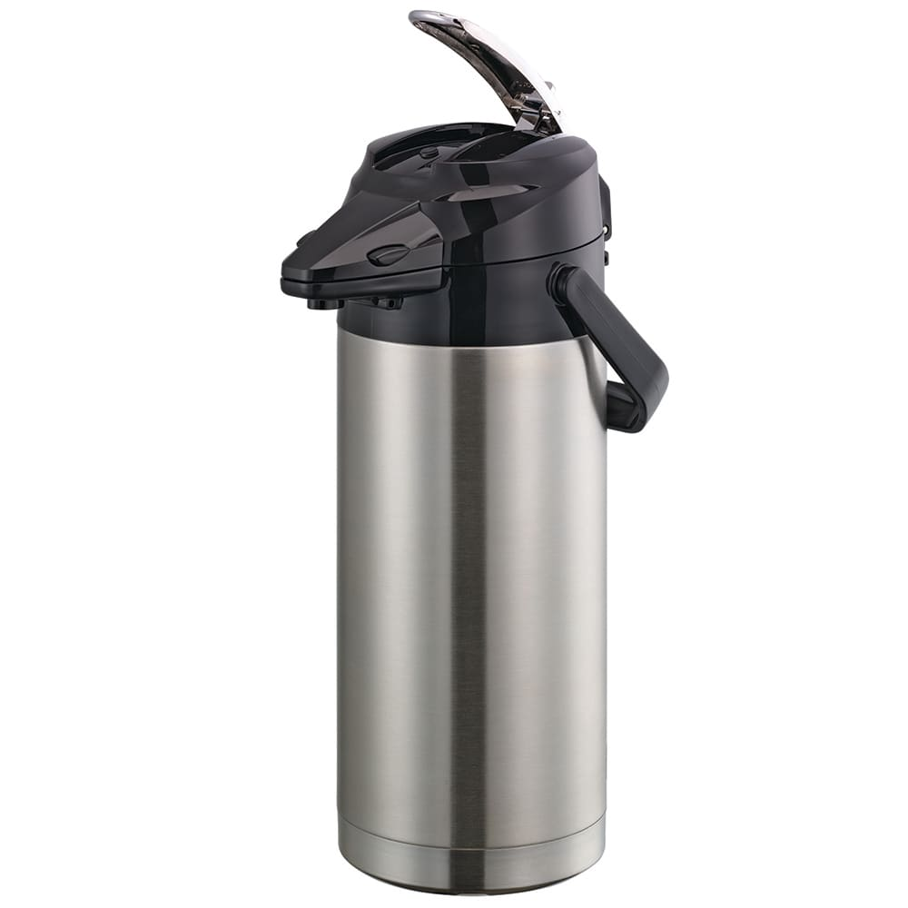 Service Ideas ENALS30S 3 liter Lever-Action Airpot - Stainless Liner, Stainless