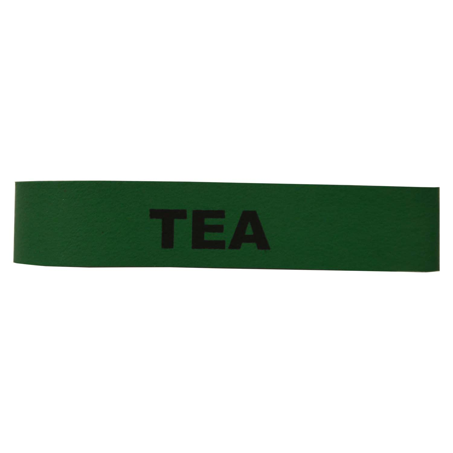 Service Ideas FBTEA Non-Toxic Rubber Label-Tea