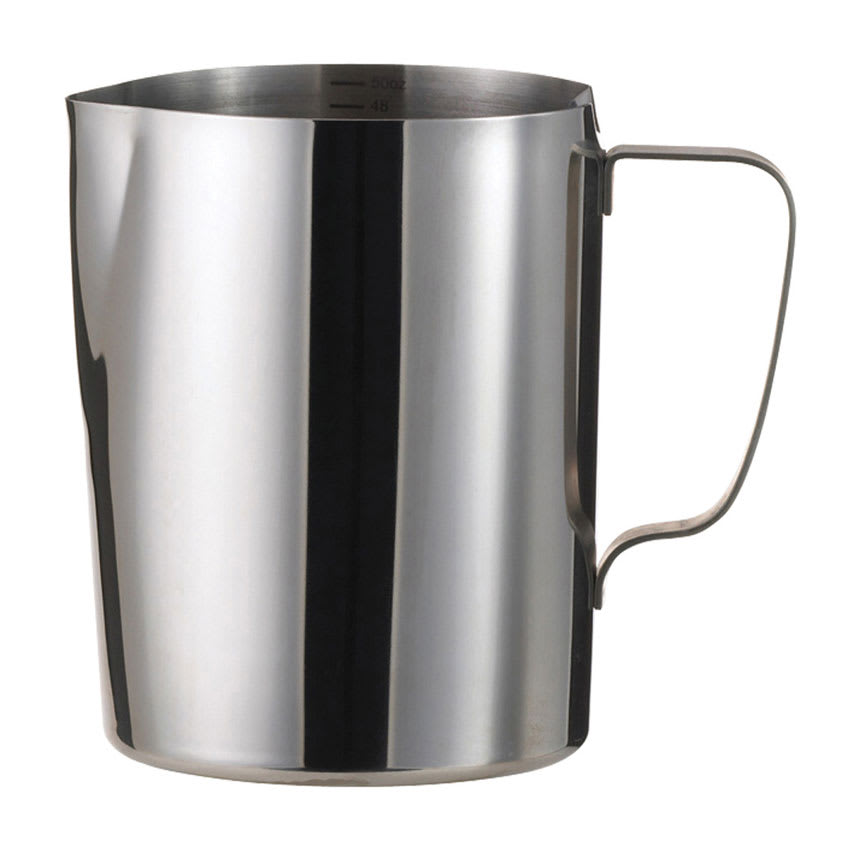 Service Ideas FROTH506 50-oz Frothing Pitcher w/ 6-oz Increments, Stainless