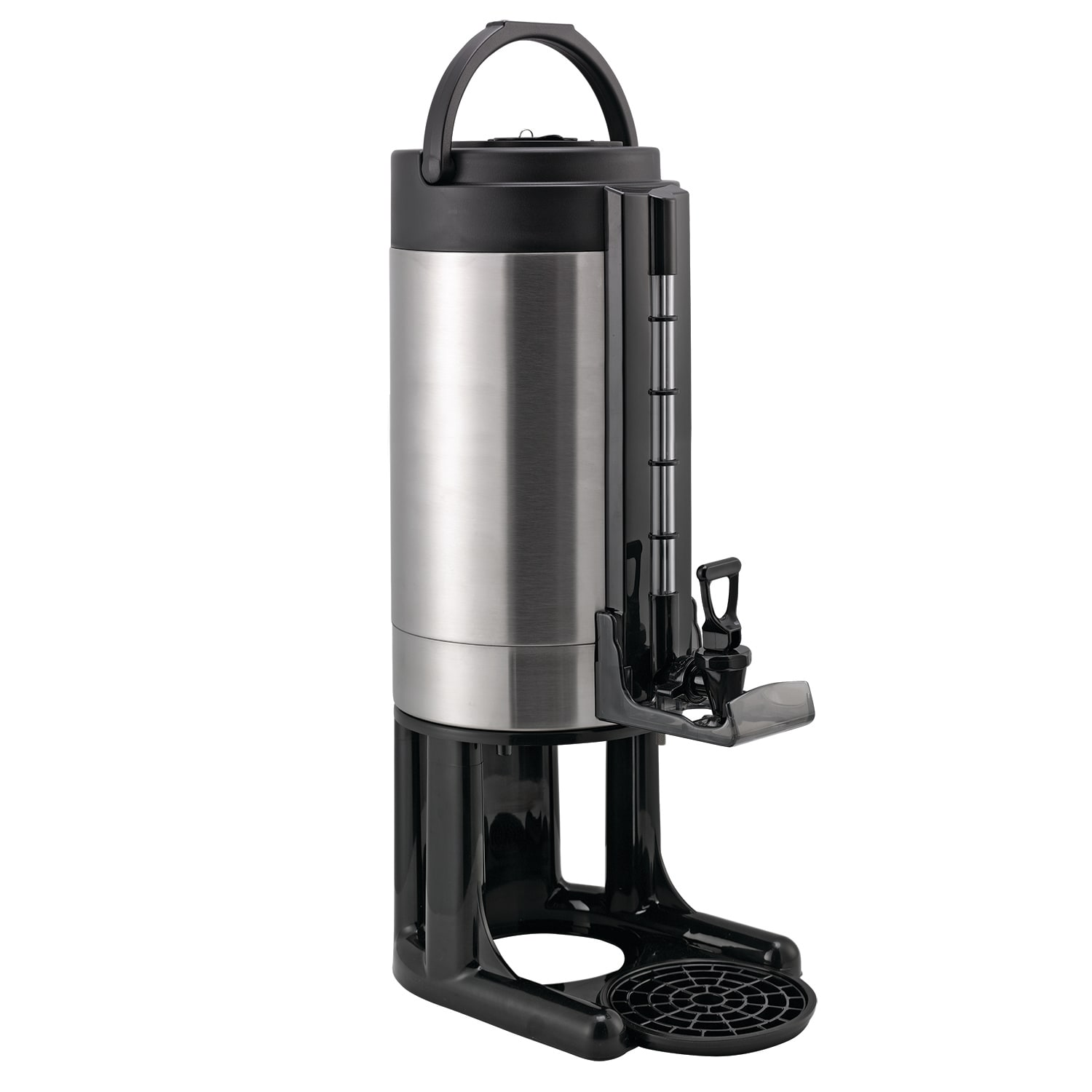 Service Ideas GIU2G 2-Gallon Brew-Thru Thermal Container w/ Drip Tray, Stainless