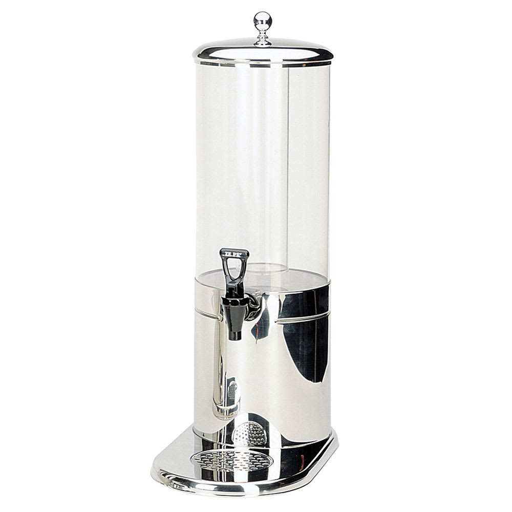 Service Ideas GSP1S7 7 liter Juice Dispenser w/ Polycarbonate Container, Stainless Base