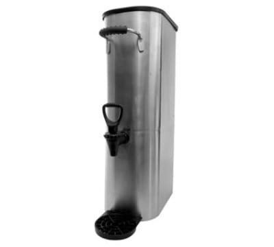 Service Ideas ITSL3GPL 3-Gallon Slim-Design Tea Urn w/ Rubber Grip Handles, Stainless