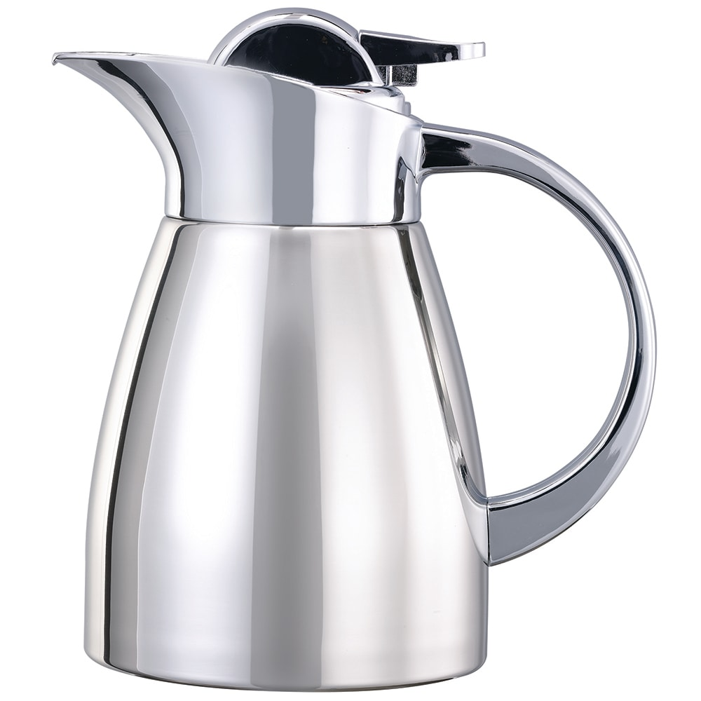 Service Ideas LVP67 .6 liter Elite Touch Coffee Server, Polished Finish