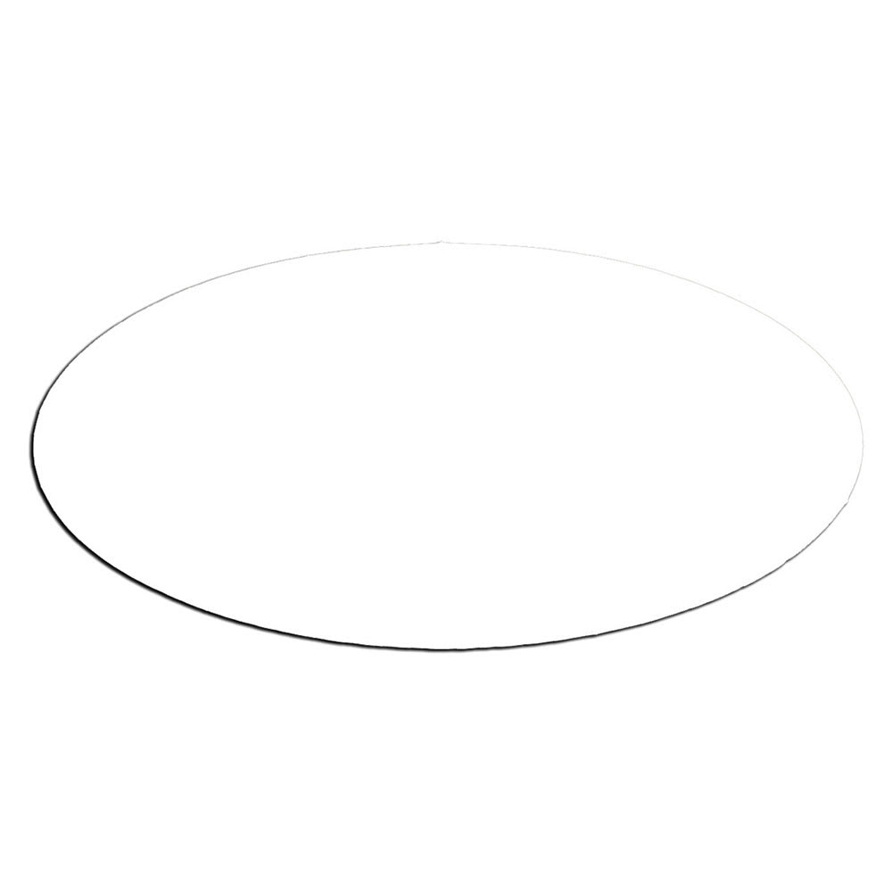 Service Ideas MFTB Oval Magnetic Flavor Tag, Blank