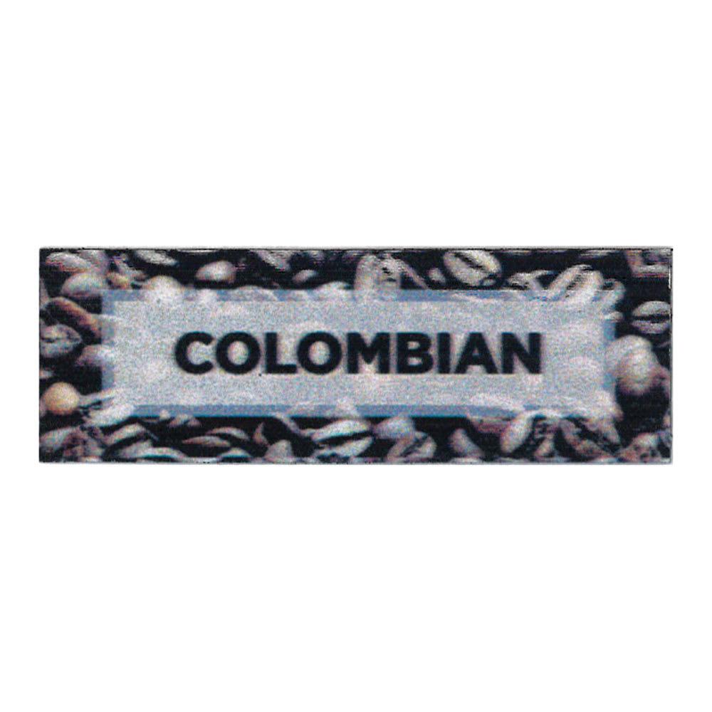 "Service Ideas MTCB1CO ID Magnet Tag, 3 x 1"", Columbian"