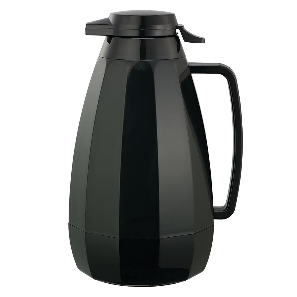 Service Ideas NG421BL 2-liter Coffee Server w/ Push Button Lid, Black