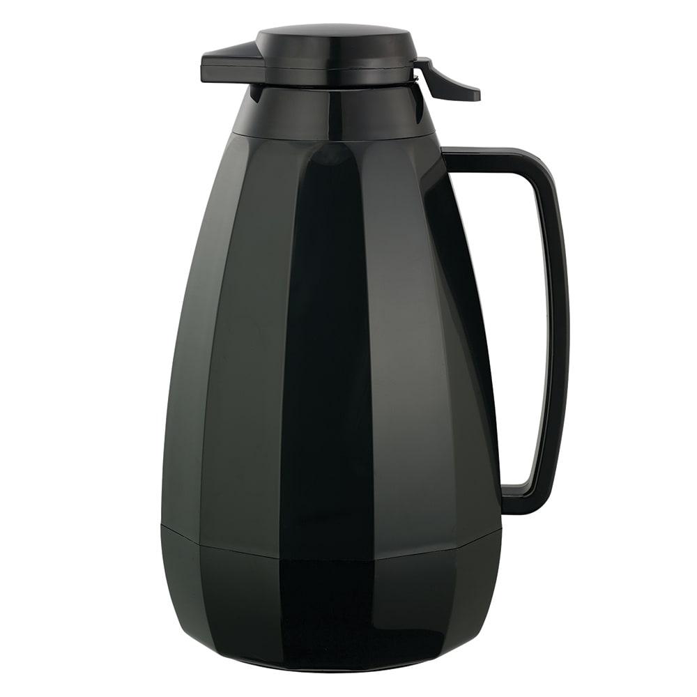Service Ideas NG421BL 2 liter Coffee Server w/ Push Button Lid, Black