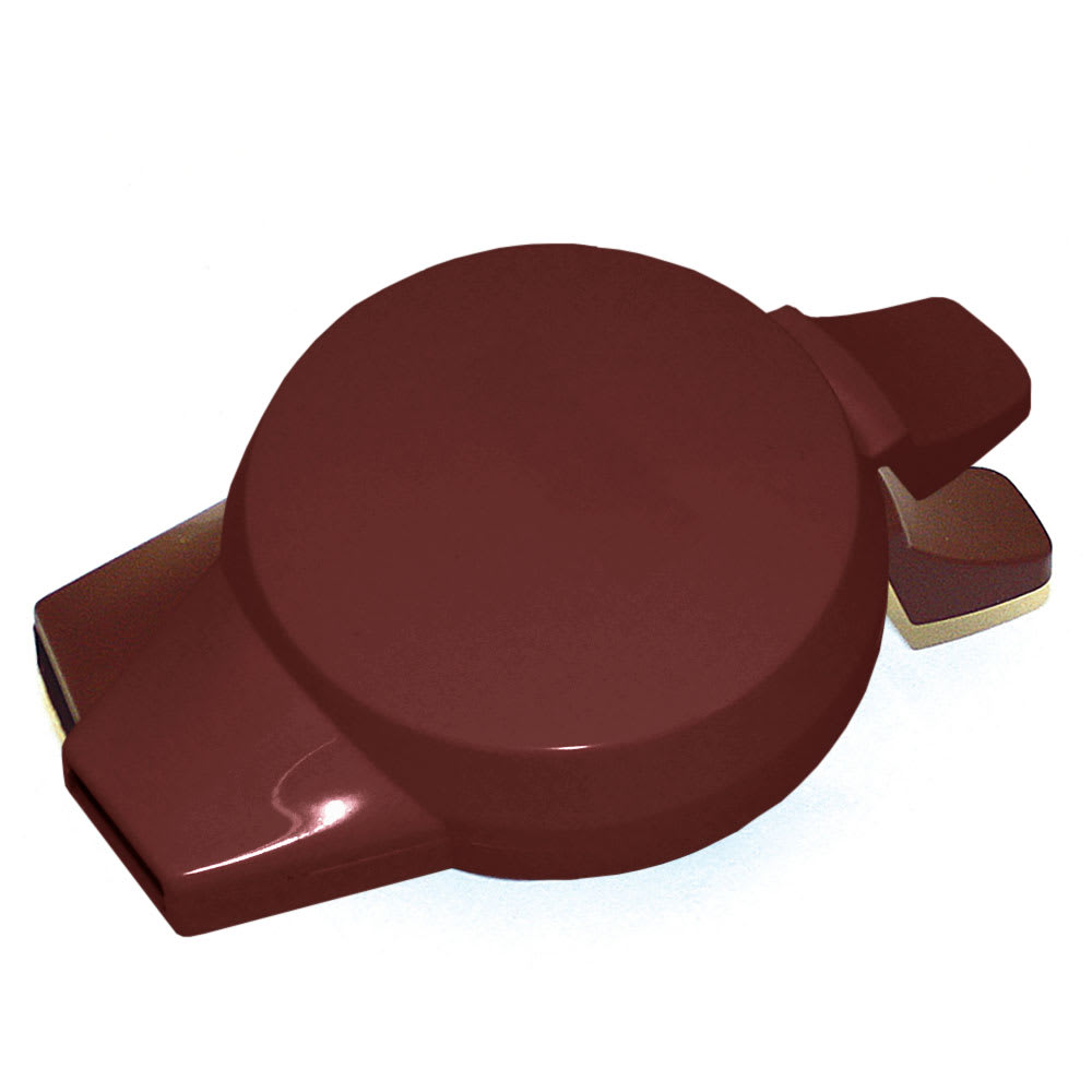 Service Ideas NGLWBU Welded Push Button Lid For 501, 101 & 421 Servers, Burgundy